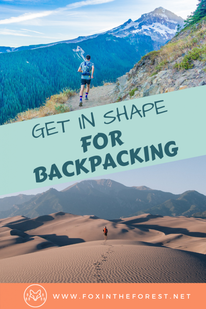 Backpacking and hiking fitness tips. Exercise and training for hiking. Backpacking and hiking tips for weight loss. Outdoors fitness and exercise. #outdoors #hiking #fitness #wellness