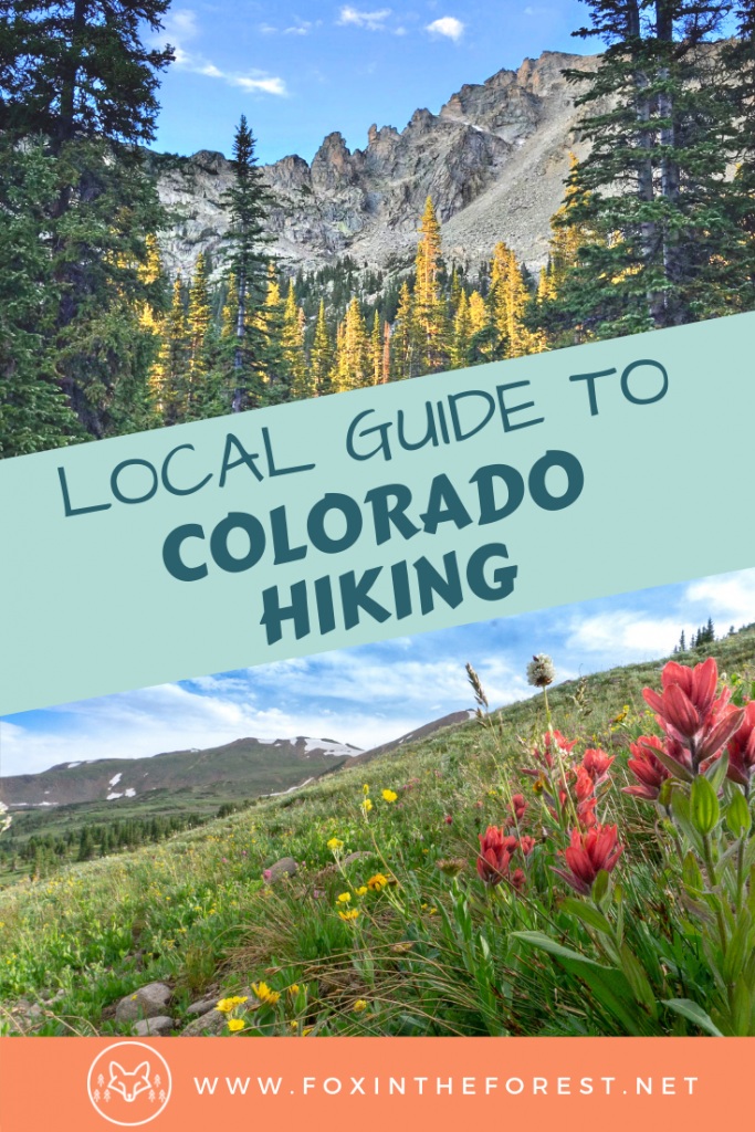 Colorado hiking destinations. Guide to hiking and travel in Colorado. Hiking destinations in Colorado. Mountain bucket lists, packing lists, and hiking tips. #hiking #colorado #travel