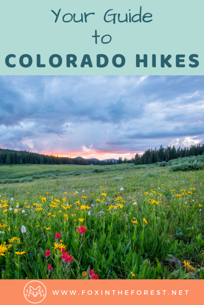 Guide to hiking in Colorado. Things to do in Colorado. Loca guide to visiting Colorado. Hiking destinations and bucket lists for summer and fall. Colorado hiking tips and tricks. Local advice. #travel #colorado #hiking
