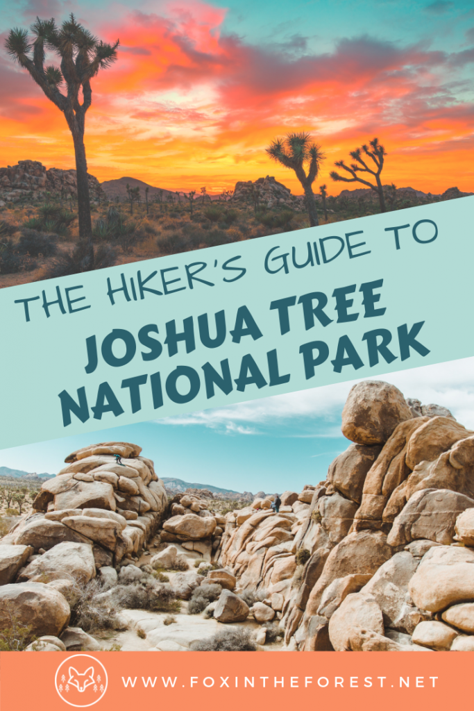 Amazing hikes in Joshua Tree National park. Things to do in Joshua Tree National Park. Camping in Joshua Tree.  Map and pictures of Joshua tree national park. #california #travel #hiking