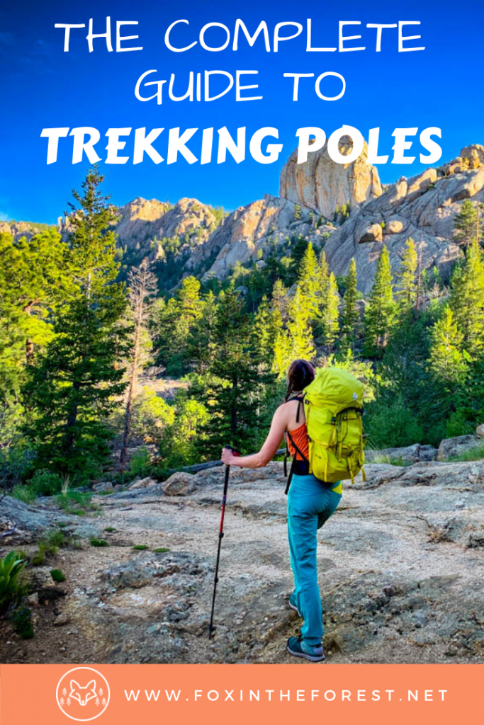 The complete guide to trekking poles for women. How to use trekking poles and buying advice. The best trekking poles as well as tips and tricks for hiking with trekking poles. #hiking #outdoors #travel