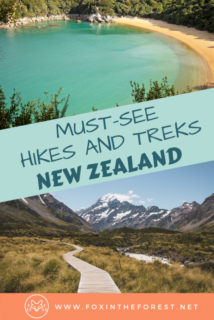 Amazing hikes in New Zealand including the best hiking trails on the North and South Island. The best things to do for Lord of the Rings lovers in New Zealand. Amazing photography hikes in New Zealand. Backpacking New Zealand's Great Walks and a guide to day hikes in New Zealand. #travel #NewZealand #hiking