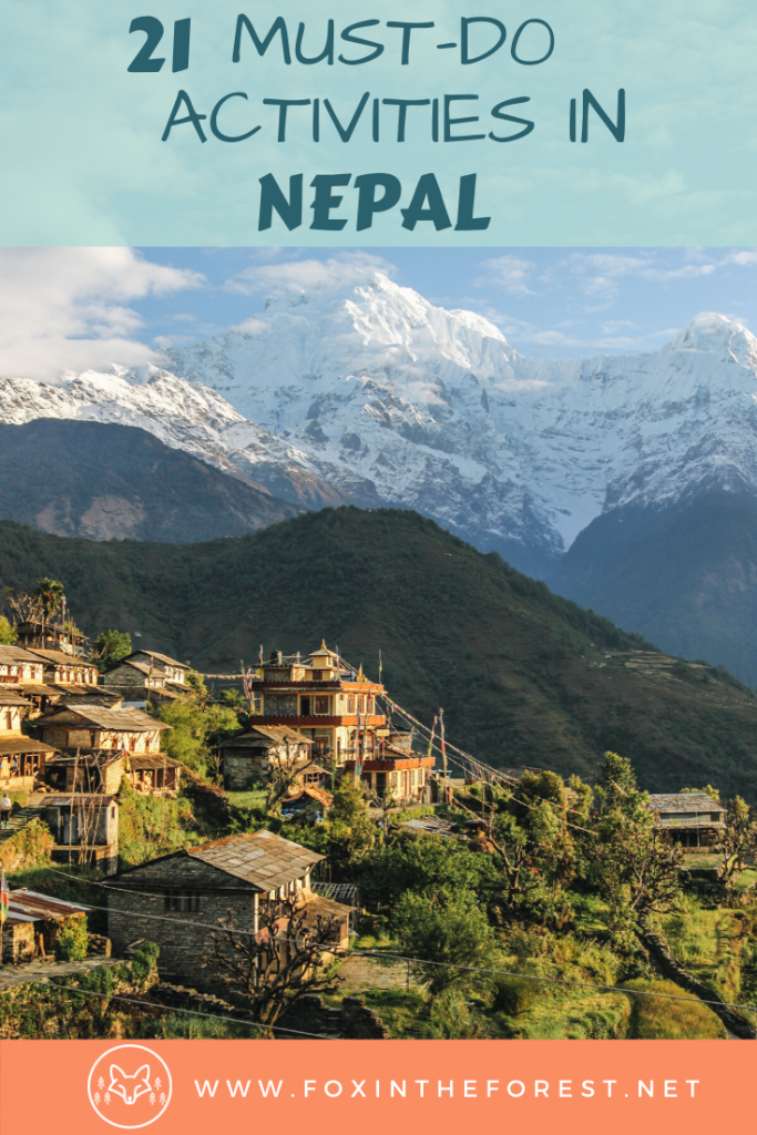 The ultimate list of the best things to do in Nepal. A look at how to plan a trip to Nepal including the best trekking in Nepal, things to do in Kathmandu, things to do in Pokhara, and more. The ultimate Nepal bucket list. #travel #Asia #Nepal