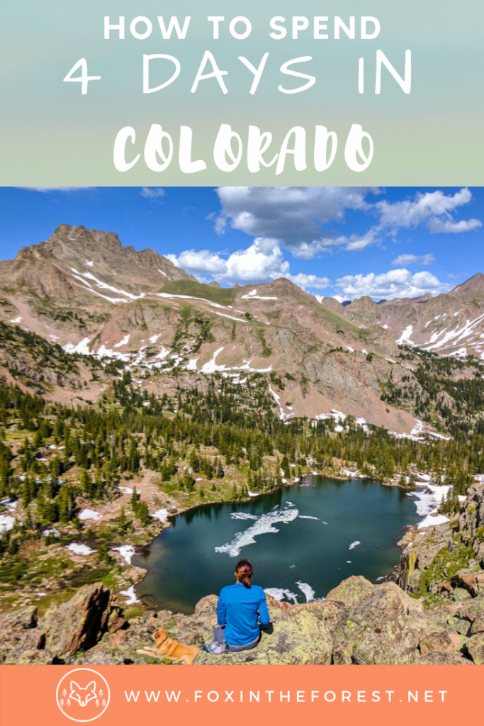 The perfect Colorado road trip itinerary for summer. Local advice on things to do in Colorado including Estes Park, hiking, camping, and more. The best things to do with 4 days in Colorado. #travel #colorado #USA