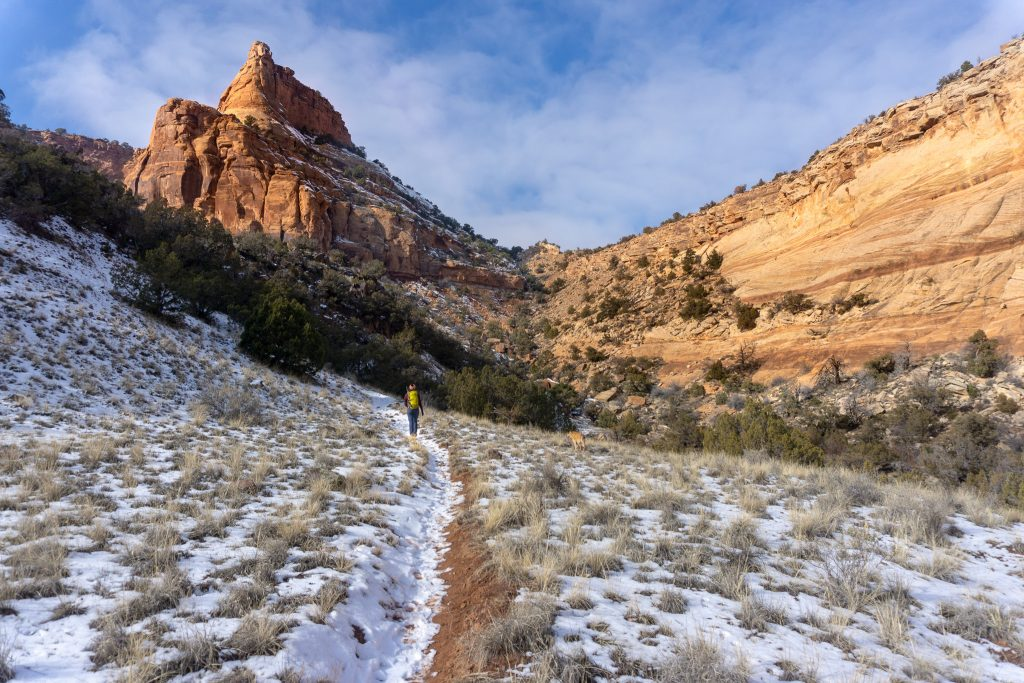 best winter hiking in colorado