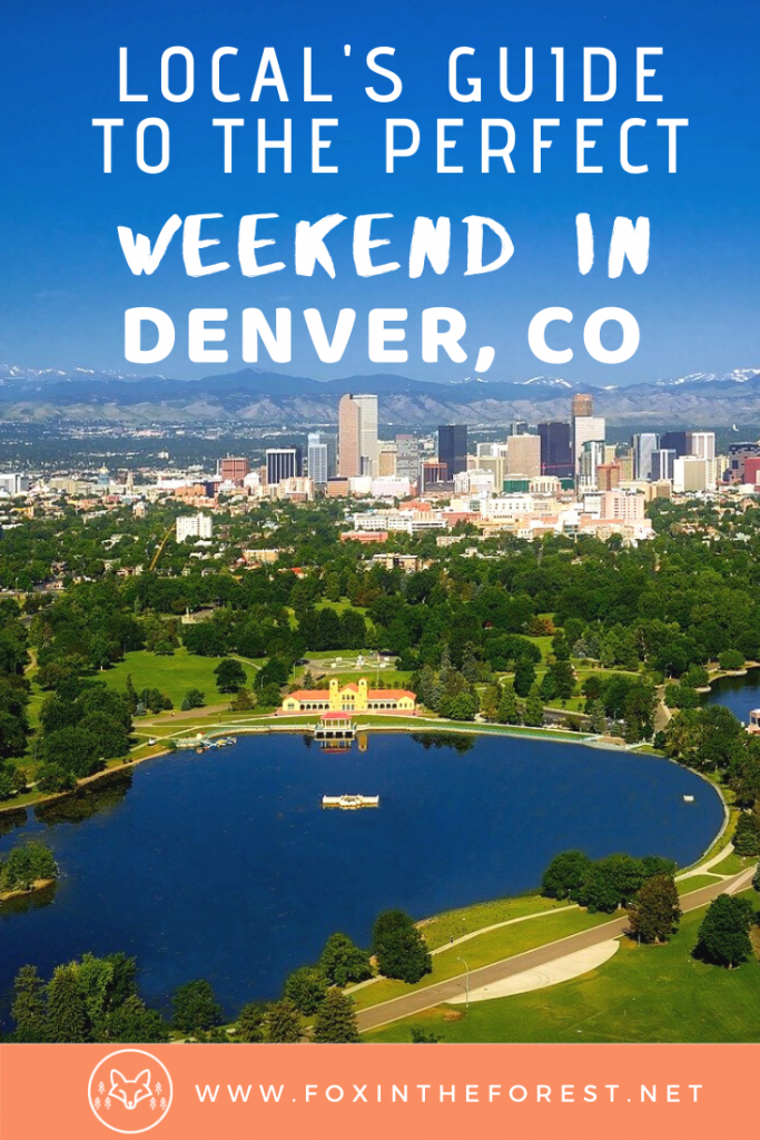 The perfect weekend itinerary in Denver, Colorado as told by a local. The local's guide to travel in Denver. 3 day Denver itinerary including the most scenic spots, things to do, best restaurants, and more. #travel #denver #Colorado