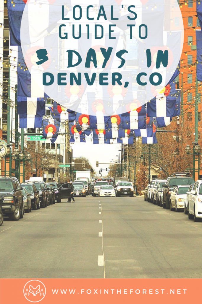 Things to do in Denver, Colorado for three days. The complete local's guide to travel in Denver. Spend the perfect weekend in Denver including hiking, food, breweries, shopping and more. #travel #colorado #denver