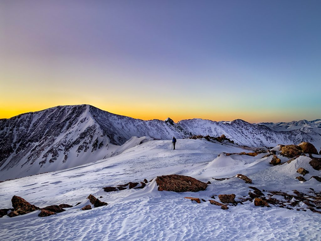 best winter hiking trails in colorado