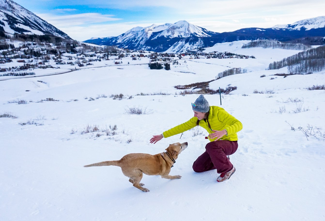 best easy winter hikes near denver