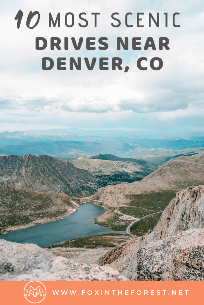 Incredibly scenic drives near Denver featuring amazing mountain views. A local guide to the best mountain drives near Denver, Colorado. #travel #colorado #denver