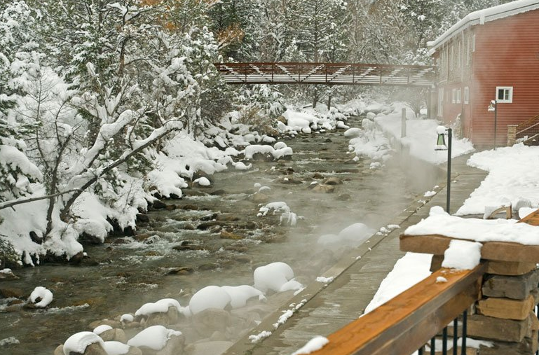 best colorado hot springs
