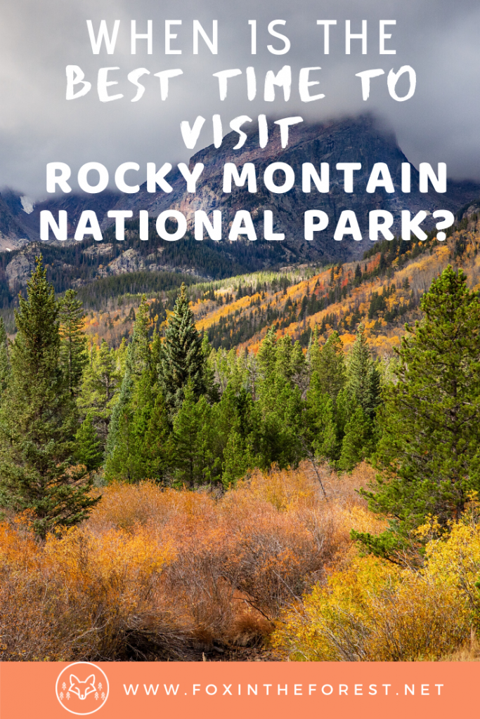 The best time to visit Rocky Mountain National Park by a Colorado Local. A look at how to plan your visit to Rocky Mountain National Park. #colorado #outdoors #travel #nationalparks