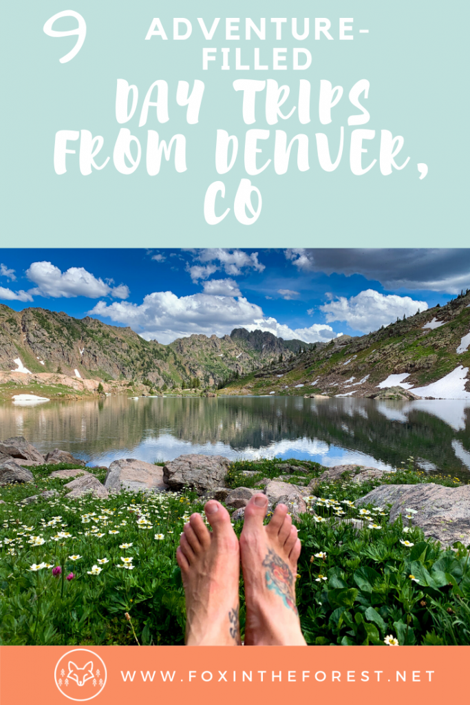 A look at the best day trips from Denver as written by a local. Things to do near Denver, Colorado. Outdoor day trips from Denver, Colorado. #denver #colorado #travel