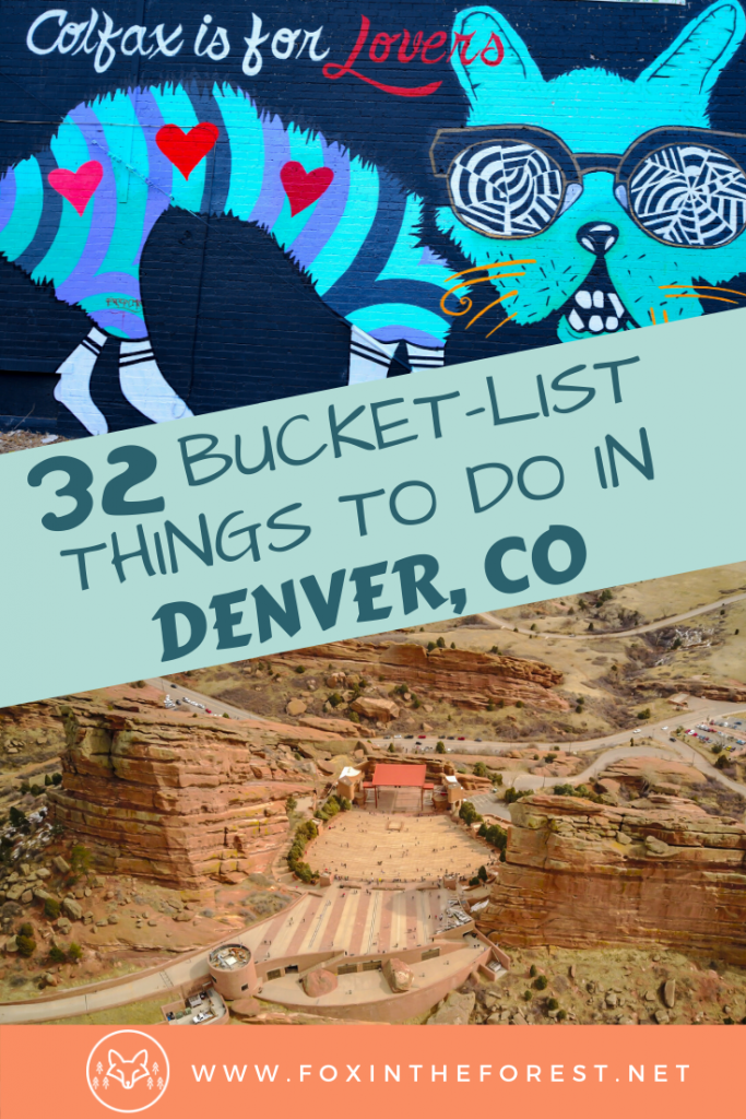 The best things to do in Denver, Colorado. A local's guide to activities in downtown Denver including the best resaurants, hiking, photography, concerts and more. #travel #denver #colorado