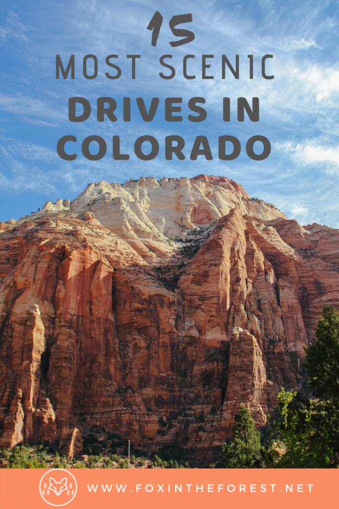 Amazingly scenic drives in Colorado. A complete local guide to Colorado's scenic byways including the most photogenic areas of Colorado. Beautiful places to visit in Colorado. #travel #colorado #inspiration