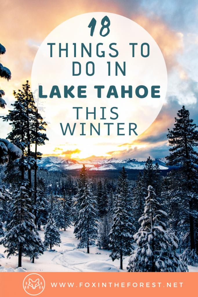 The best things to do in Lake Tahoe in winter. Vacation activities including things to do in Incline Village, Nevada, South Lake Tahoe, Emerald Bay and more. Best winter photography spots, hiking, skiing, and views. #california #nevada #travel #usa
