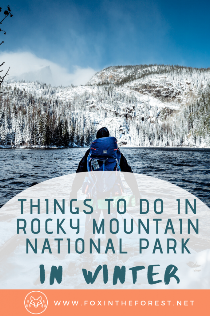 Amazing things to do in Rocky Mountain National Park in winter. Local advice for fun-filled winter activities in Rocky Mountain National Park. #colorado #travel #nationalparks