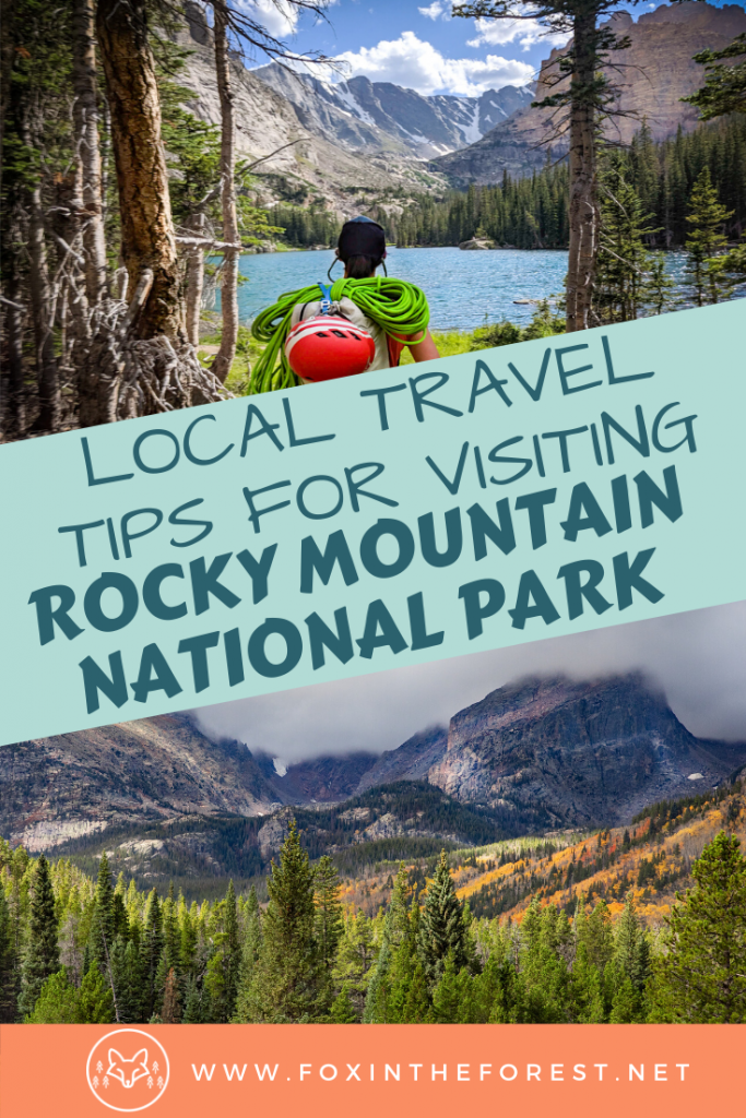 Everything you need to know before visiting Rocky Mountain National Park Colorado. Written by a local, this insider's guide to visiting Rocky Mountain National Park gives you everything you need to know to plan your trip. #nationalparks #travel #colorado