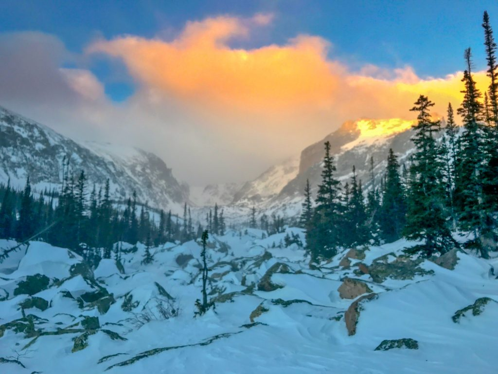 things to do in Rocky Mountain National Park in winter