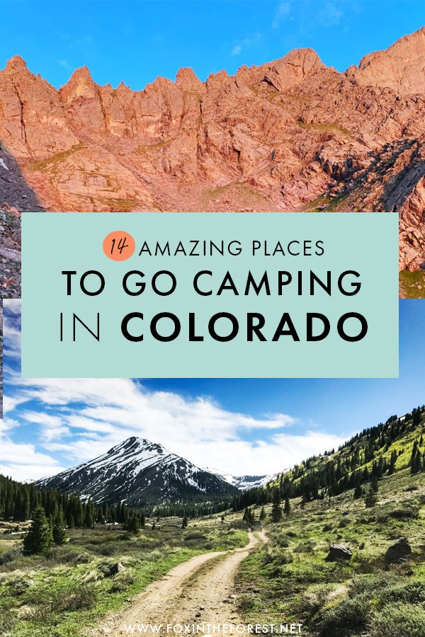 Wondering where to go camping in Colorado? On this post, we share the best campgrounds in Colorado, including fun camping destinations near Denver, tips to camp in Rocky Mountains National Park, camping near Aspen, and many more incredible outdoor locations for the ultimate camping trip in Colorado. #Colorado #USA