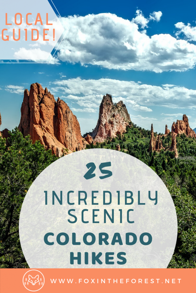 One of the best things to do in Colorado is go hiking. These are the best hiking trails in Colorado according to a local. Explore the most scenic spots in Colorado along these amazing hikes. This list includes hikes near Denver, Colorado Springs, Rocky Mountain National Park, Garden of the Gods, Great Sand Dunes National Park and more. Get amazing hiking recommendations for your vacation to Colorado. #hiking #colorado #outdoors