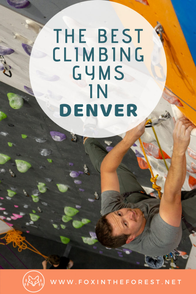 Get the best Denver travel advice with a local guide to amazing climbing gyms in Denver, Colorado. Learn a new sport and stay on top of fitness trends with an inside look at Denver's best climbing gyms. A fun, family-friendly thing to do in Denver on your next Colorado vacation. #travel #climbing #denver #colorado