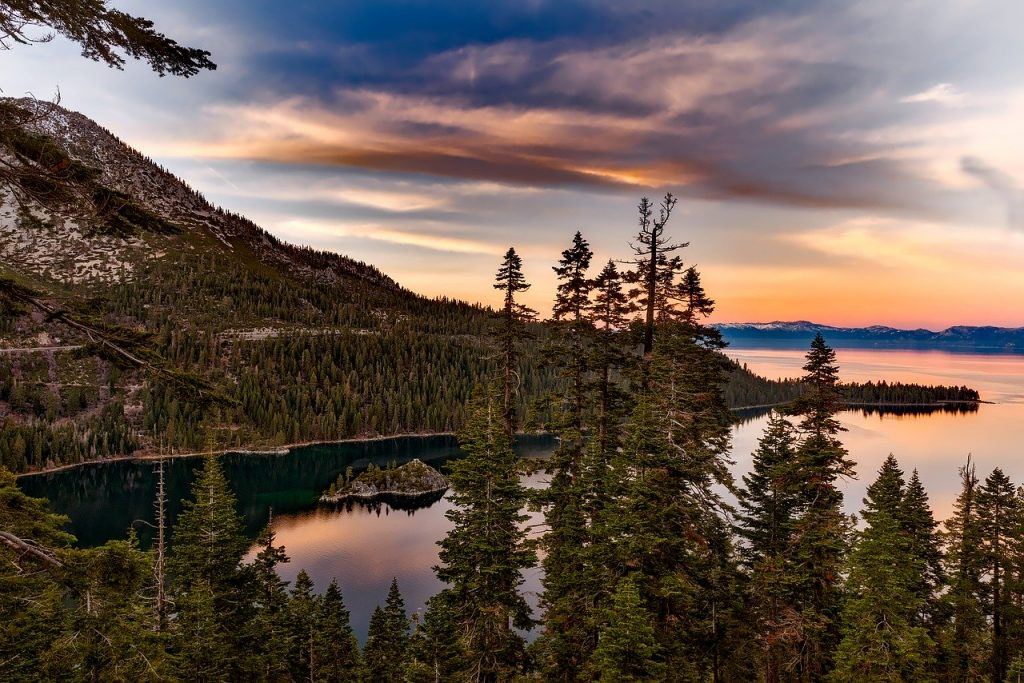 lake tahoe Itinerary
