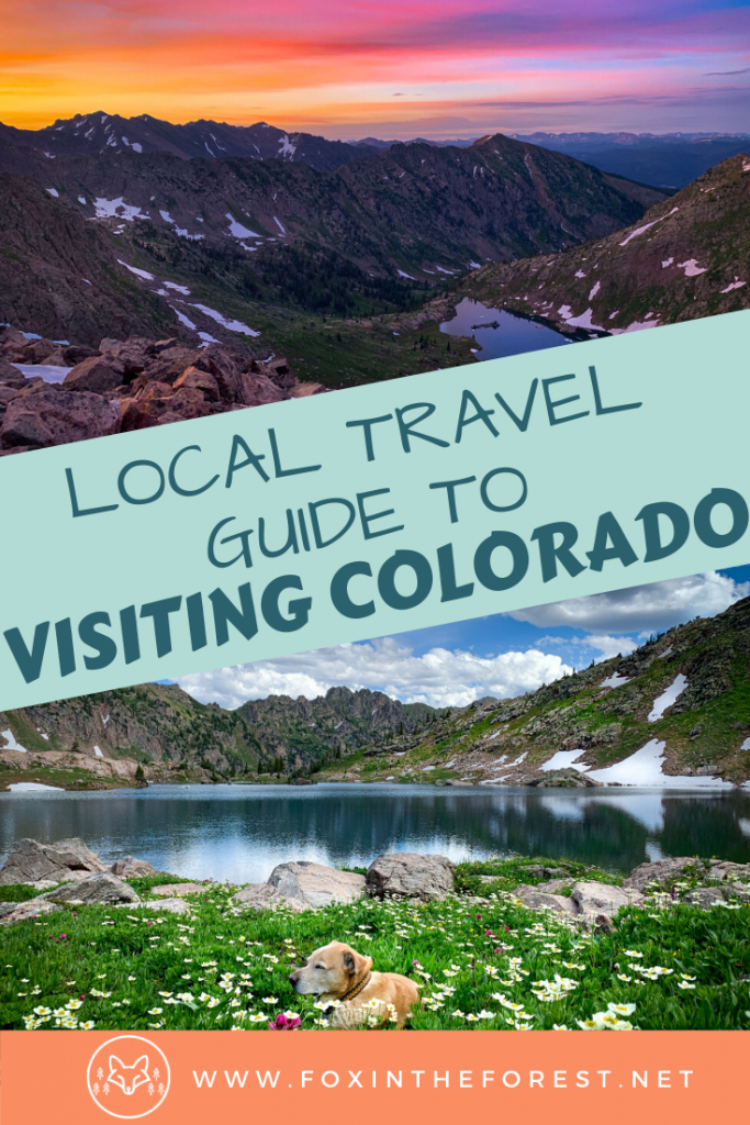 Plan the perfect Colorado vacation with these local travel tips. Get the inside scoop on the best way to discoer the mountains, amazing things to do outside, and insider travel tips. #colorado #travel #outdoors