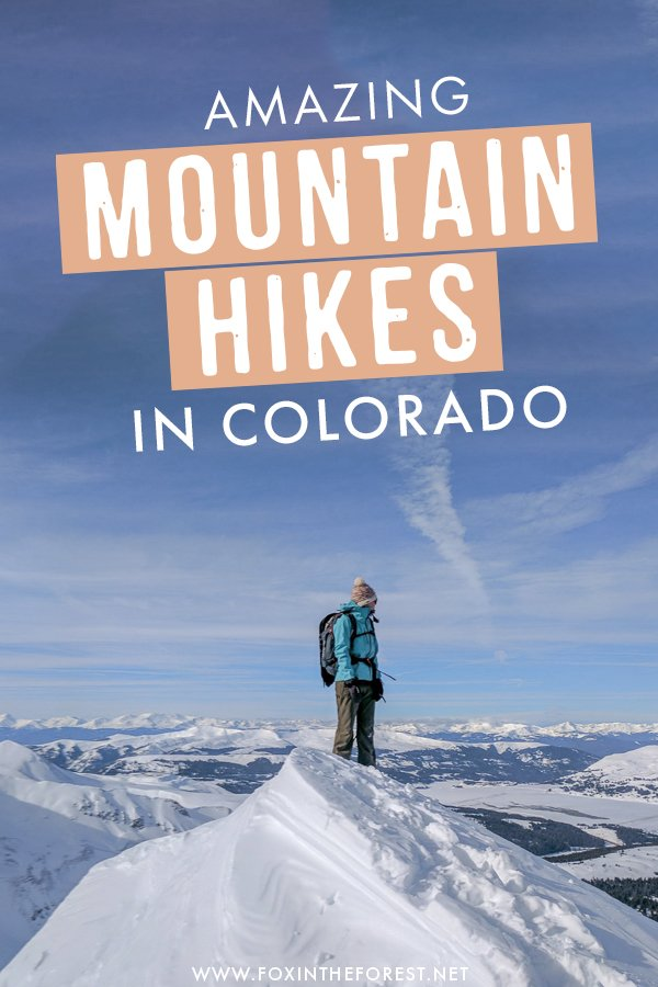 Wondering where to go hiking in Colorado? If you're near Denver, you'll love checking out this incredibly scenic 13ers and mountain hikes in Colorado that are just short drives away from Denver! #Colorado