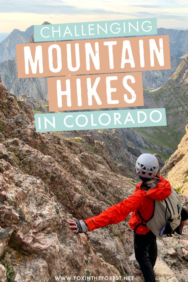 Wondering where to find the best mountain hikes and 14ers in Colorado? It's no secret that Colorado is the best place in the USA to go mountain hiking, but what are the best hikes to take? If you're looking for a real challenge, these post is for you! #Colorado