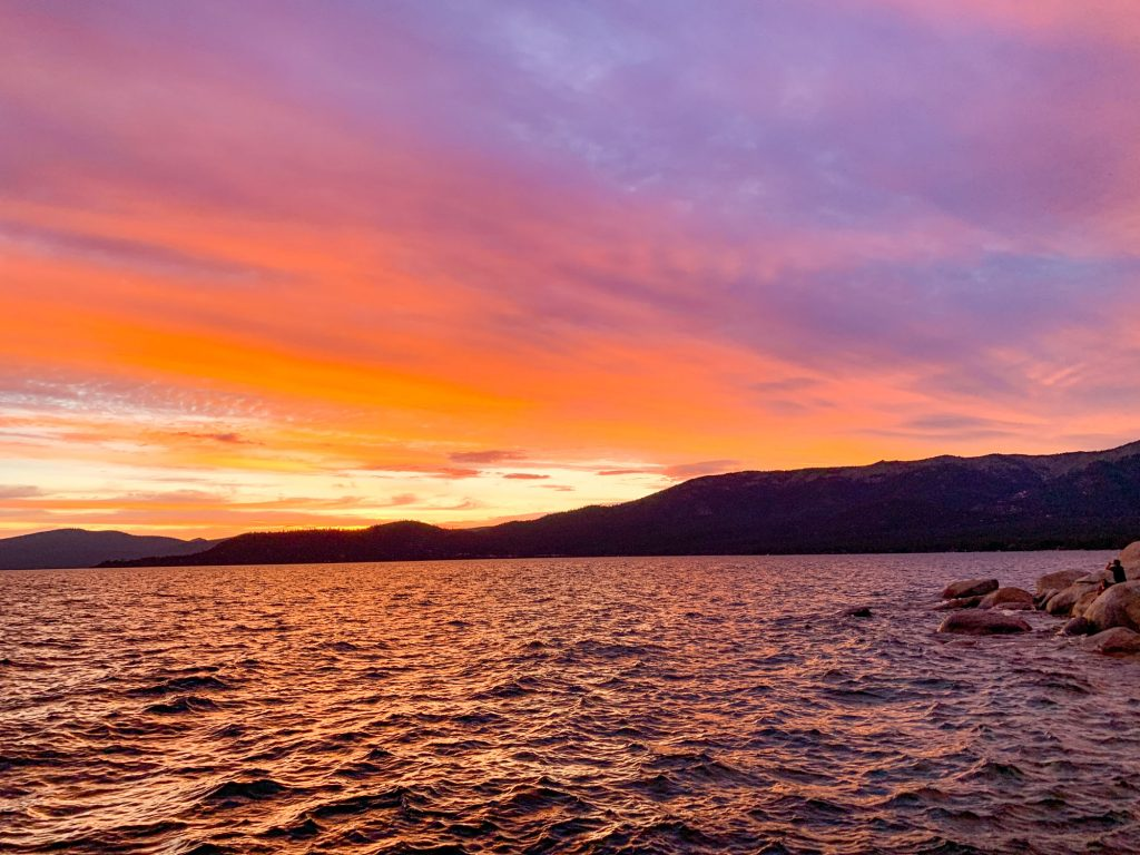 the best camping in Lake Tahoe