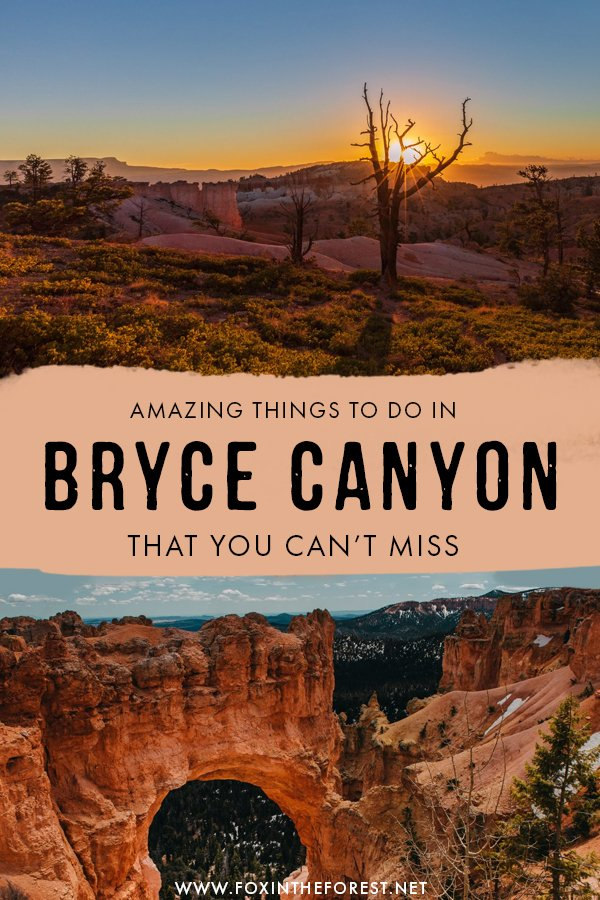 Wondering how to make the most out of a day in Bryce Canyon, Utah? If you're planning a visit to one of the most amazing national parks in Utah, this guide has you covered! From things to do, to where to stay, to the best time to visit and top travel tips, this is the only Bryce Canyon travel guide you need! #Utah