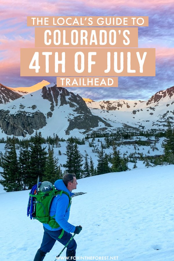 Thinking of hiking the 4th of July Trailhead in Colorado? On this post, I share my favorite hikes and routes that you can't miss including Mount Jasper, Mount Neva,  and more routes! I also include tips on things to do nearby, where to stay, and more! #Colorado