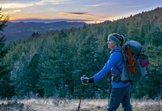 less crowded hiking trails near denver