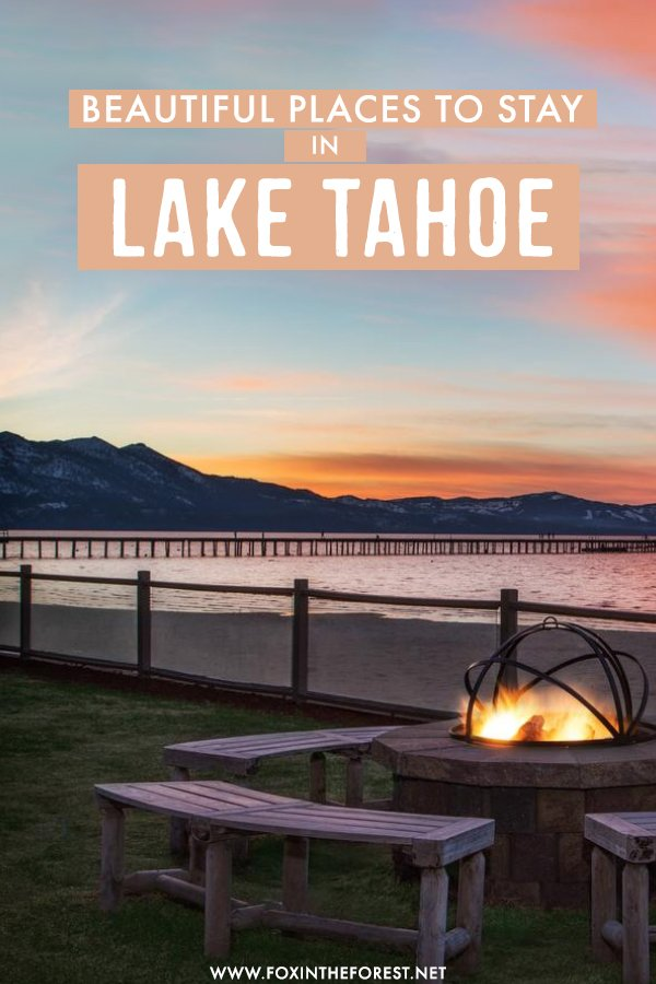 Planning a trip to Lake Tahoe and wondering where to stay? Whether you're planning an outdoors holiday, a budget trip, or a luxury getaway, here are the most amazing hotels and places to stay in Lake Tahoe that you have to check out!