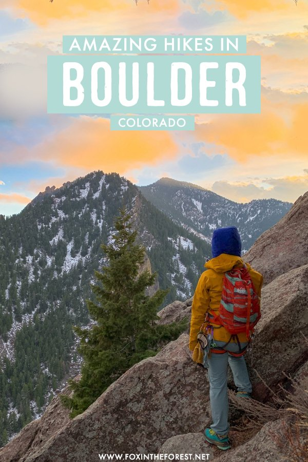 Wondering where to go next? If you're visiting Denver or looking for the perfect Denver weekend getaway, Boulder is the perfect Colorado destination from you! With amazing hikes and the best outdoor scenery, Boulder offers some of the best hikes in Colorado and I share them all on this travel guide! #Colorado #Boulder #USA