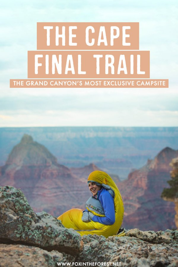 Looking for a quiet spot in the Grand Canyon? Visiting the Grand Canyon in Arizona is a bucket list trip for many, but that means it can get crowded! If you want to enjoy the best views of the rim of  Grand Canyon without the crowds, here's the best off the beaten path trail, you'll love this travel guide! #GrandCanyon #Arizona #USA