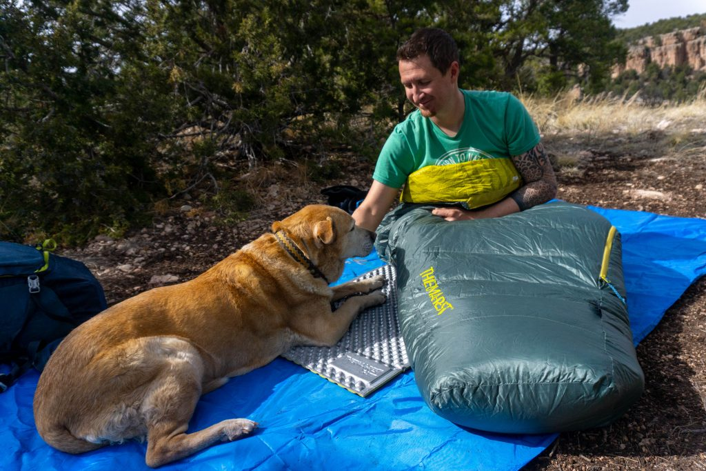 Down vs synthetic sleeping bag