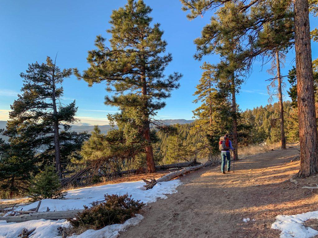 hikes near evergreen