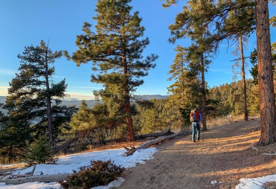 hikes near evergreen