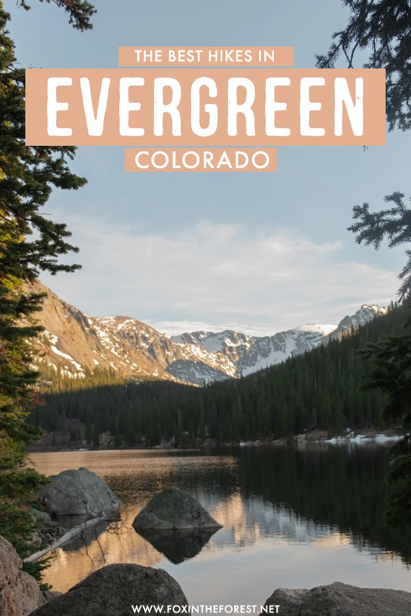 Visiting Evergreen, Colorado and wondering what the best hikes and routes are? If you love mountains, nature, and outdoor adventures, you'll love these 11 hikes in Evergreen, Colorado! For all fitness levels and types of hikers, you can't miss these 11 hiking trails in the best hiking destination in Colorado, United States. #Colorado #USA