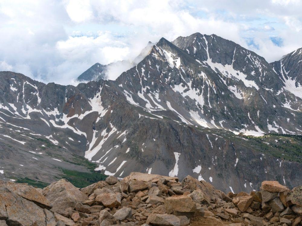 A view of Huron Peak in Colorado.