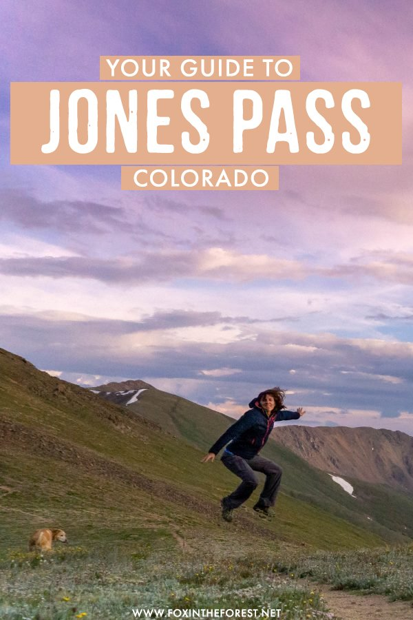 The ultimate guide to Jones Pass, Colorado! High alpine adventures close to Denver and a perfect weekend getaway for those who love the outdoors. On this guide to Jones Pass, I share everything you need to know about one of the most thrilling outdoor destinations in Colorado! #Colorado #USA