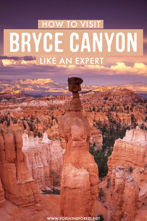Want to visit Bryce Canyon? If you're wondering what to do in Bryce Canyon, here's the ultimate local's guide to one of the most beautiful national parks in the USA! On this guide, I share where to stay, what to hike, what to do, and more tips on how to visit Bryce Canyon National Park like a pro!