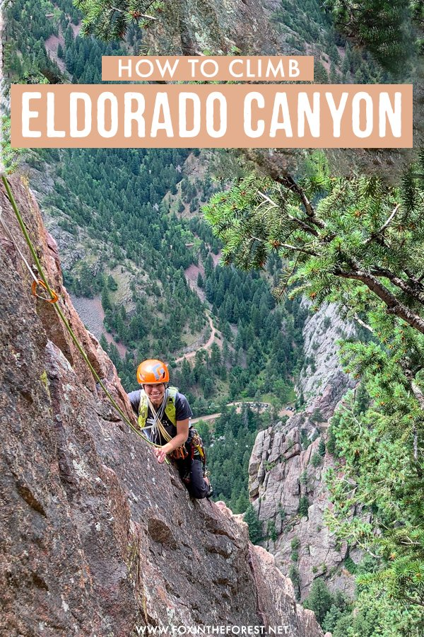 Eldorado is one of the most thrilling climbs in Boulder, Colorado, and on this post, I share everything you need to know to do one of the most classic climbs in Eldorado, Colorado. #Colorado