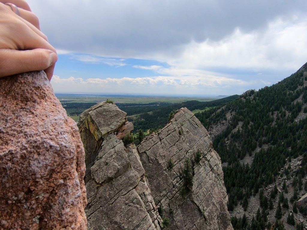best climbs in eldorado canyon colorado