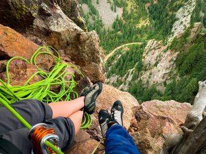 best climbing routes in eldorado canyon
