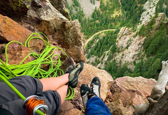 best climbing routes in eldorado canyon