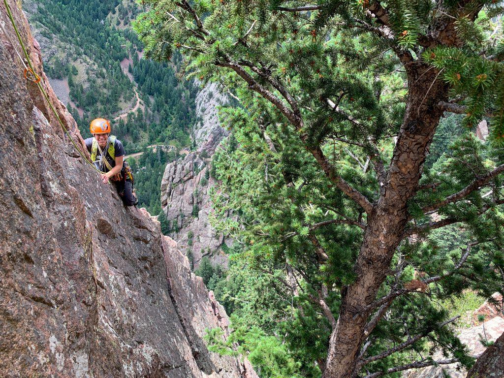 eldorado canyon climbing