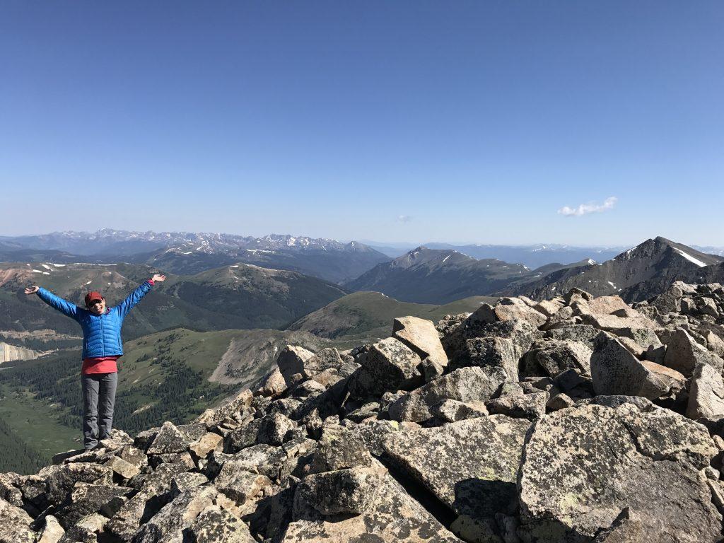 hiking trail snear breckenrdige